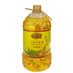 丹凤县亿满贯一级大豆油5升